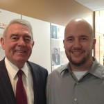 Robert With Dan Rather
